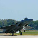 F-15 Taking off  by Paul Lenharr II