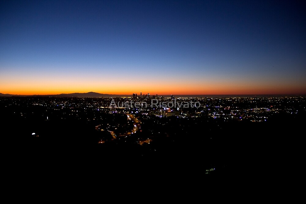 Sunrise from Hollywood by Austen Risolvato