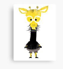 Misfits Giraffe Canvas Print