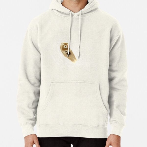 Otter ripples Pullover Hoodie
