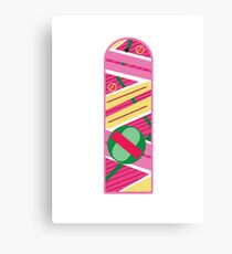 BTTF Hoverboard Canvas Print