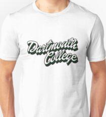 Dartmouth retro script Unisex T-Shirt
