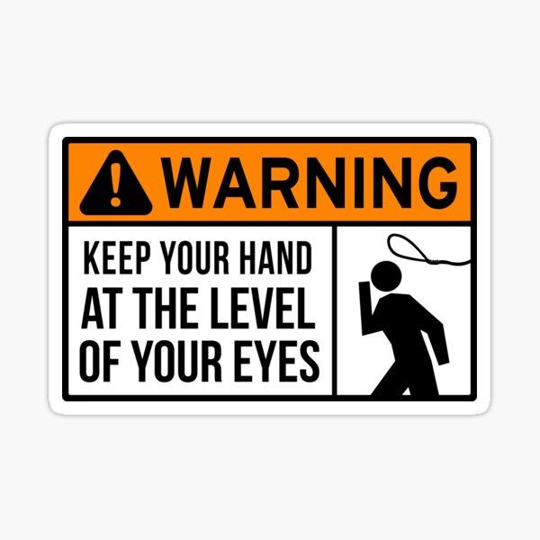 To Avoid Lassos Sticker