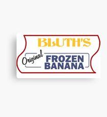 Bluth's Frozen Bananas Canvas Print