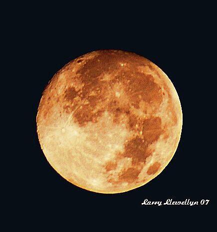A Full Moon by Larry Llewellyn