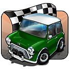 Austin Cooper S in BRG (British Racing Green) by snuggles