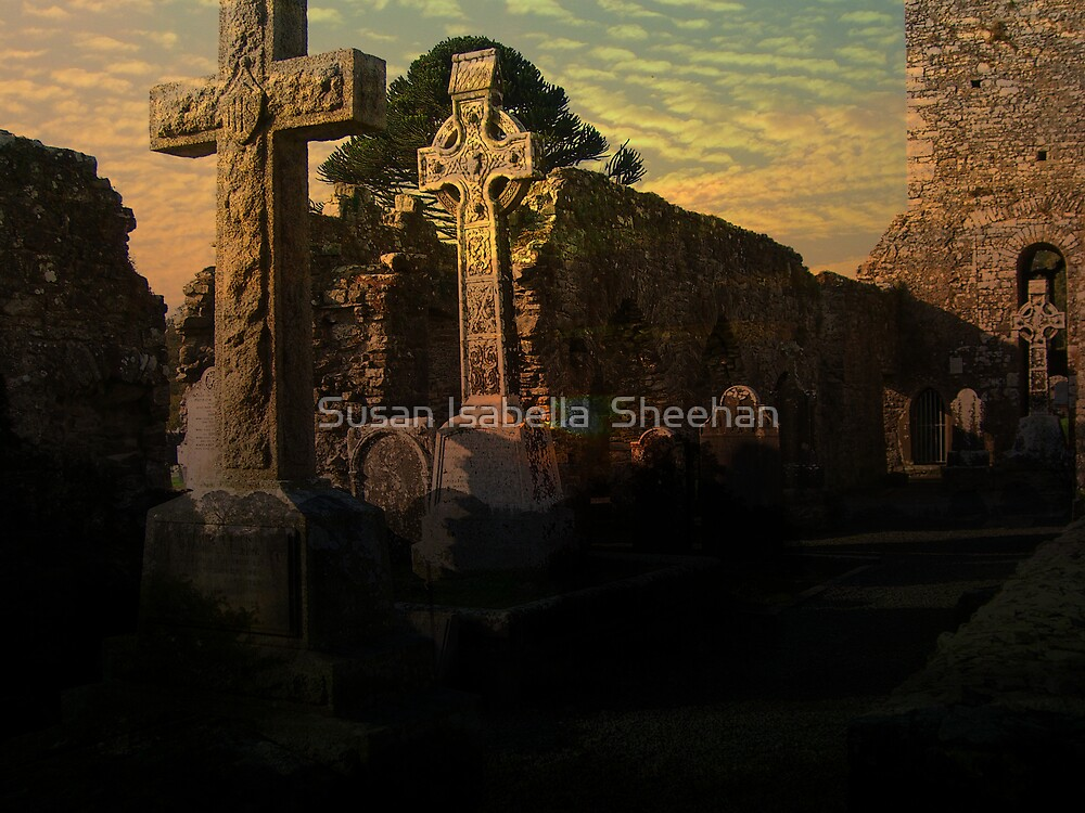Dawn On The Hill Of Slaine by Susan Isabella  Sheehan