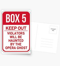 Box 5: Keep Out Postcards