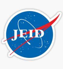 Jeid (NASA Logo) Sticker