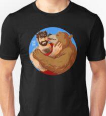 BEAR KISS - COLOURED Unisex T-Shirt