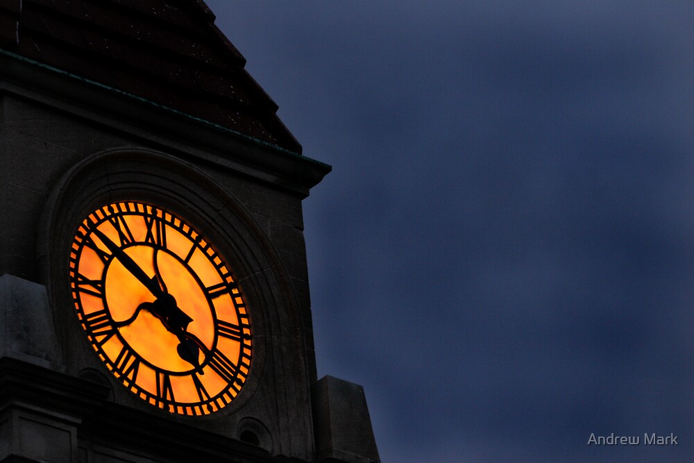 the cLock toWer by Andrew Mark