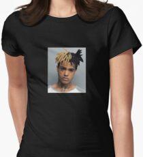 XXXTentacion Mugshot Womens Fitted T-Shirt