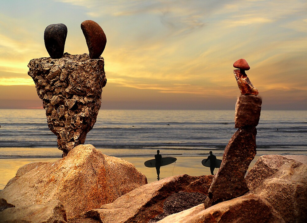 Rock Art I by Chuck Cannova