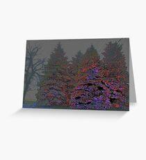 Holographic Christmas Grußkarte