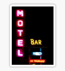 Motel  - Bar -  HBO - No Vacancy Sticker