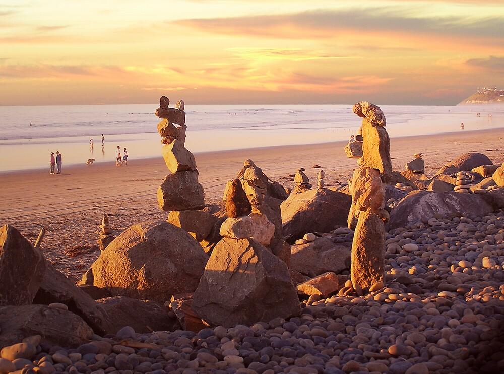Rock Art III by Chuck Cannova