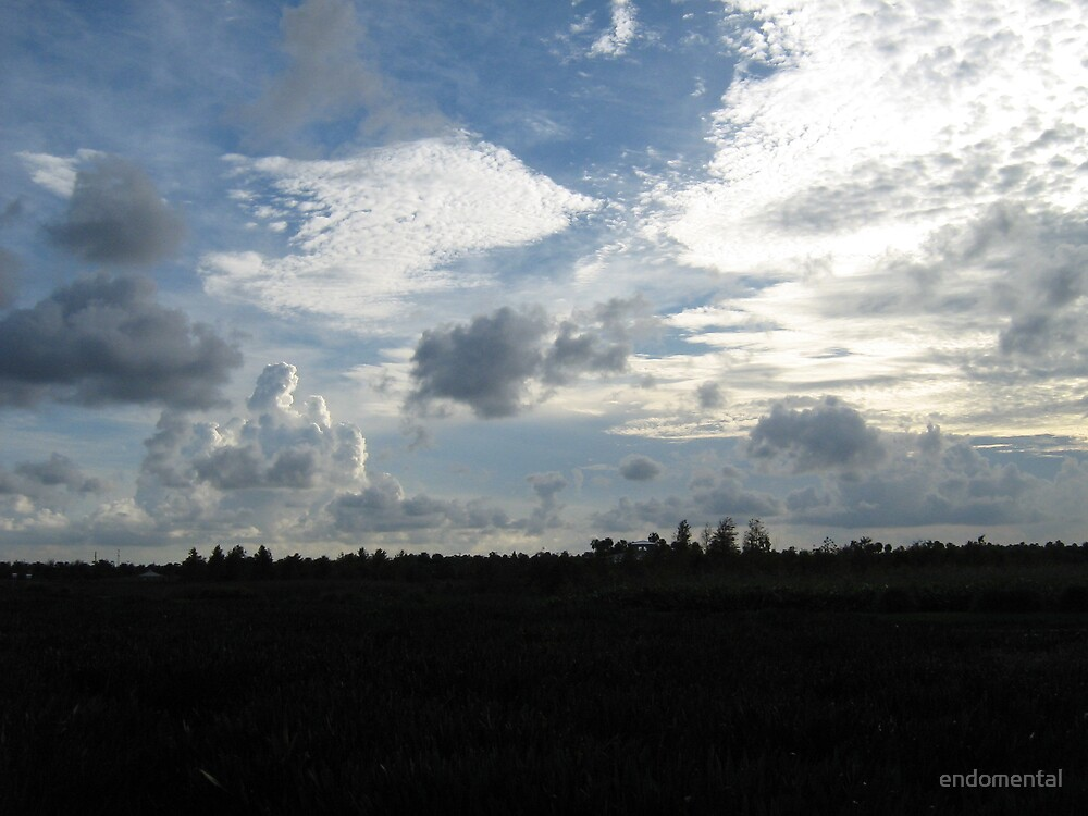 Clouds over the Cay by endomental