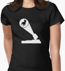 French Bulldog Frenchie Signal Women's Fitted T-Shirt