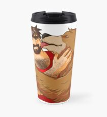 BEAR KISS - NO BACKGROUND Travel Mug
