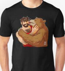 BEAR KISS - NO BACKGROUND Unisex T-Shirt