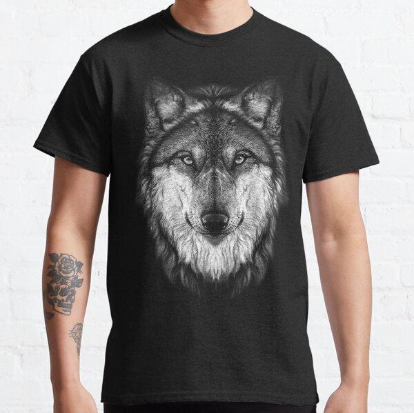Visage de loup T-shirt classique