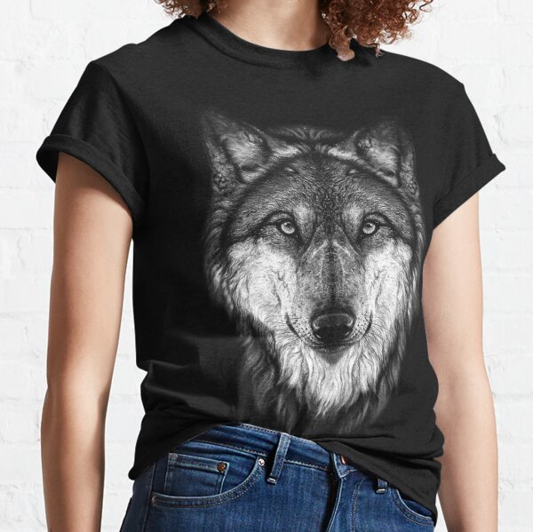 Wolf face Classic T-Shirt
