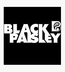 Black Paisley/E-Dubble  Photographic Print