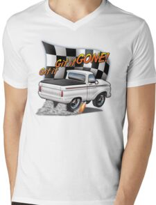 Git it GONE! Mens V-Neck T-Shirt