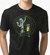 Skeleton Portal Tri-blend T-Shirt