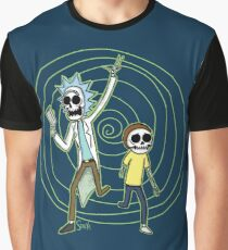Skeleton Portal Graphic T-Shirt