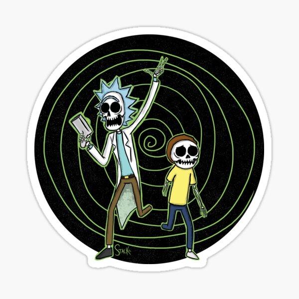 Skeleton Portal Sticker