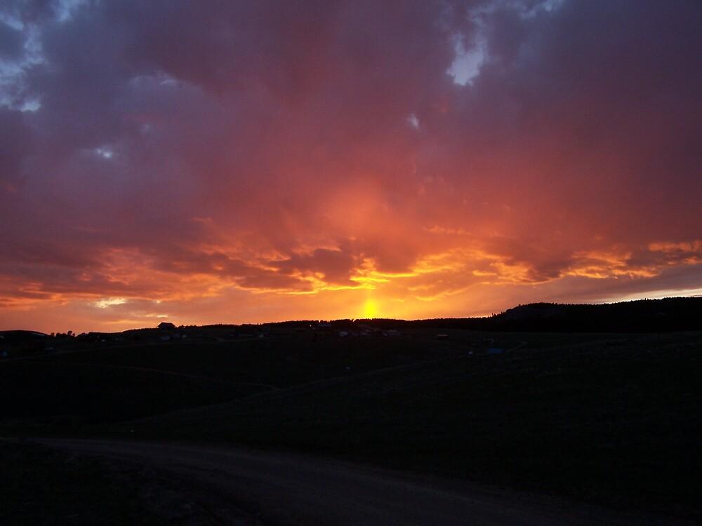 Mountain Sunset by asrobinson