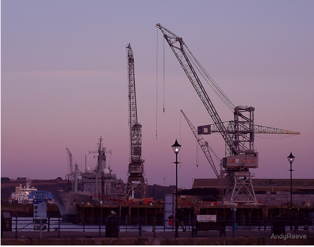 Dockwork - Day's End by AndyReeve