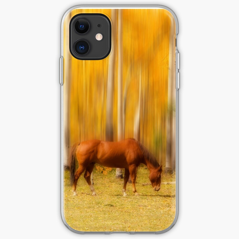 Mystic Horses  iPhone Soft Case