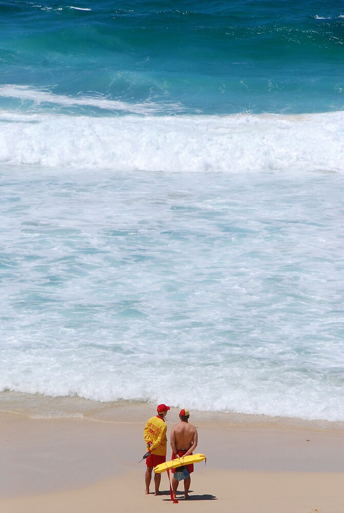 Sydney beach scene by ADiepenbroek