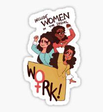 include women Sticker