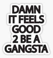 Gangsta Sticker