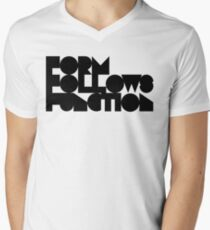 F F F Men's V-Neck T-Shirt