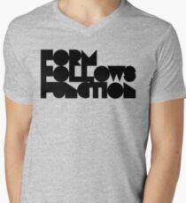 F F F Mens V-Neck T-Shirt