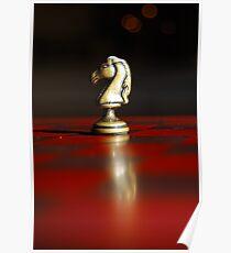Winning Piece on Chess Poster