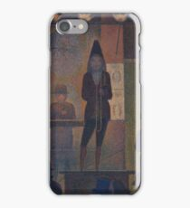 Georges Seurat - Circus Sideshow iPhone Case/Skin