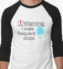I Make Frequent Stops - Pokemon Go Men's Baseball ¾ T-Shirt