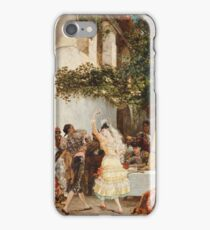 Georges Jules Victor Clairin - The Spanish Dancers iPhone Case/Skin