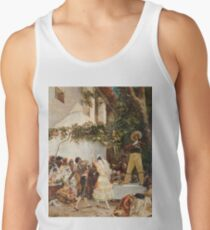 Georges Jules Victor Clairin - The Spanish Dancers Tank Top