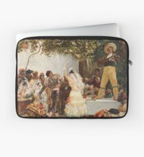 Georges Jules Victor Clairin - The Spanish Dancers Laptop Sleeve