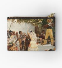 Georges Jules Victor Clairin - The Spanish Dancers Studio Pouch