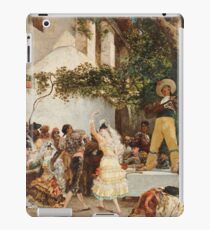 Georges Jules Victor Clairin - The Spanish Dancers iPad Case/Skin