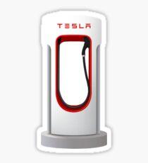 Tesla Supercharger Station Sticker