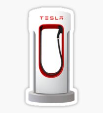 Tesla Supercharger Station Sticker