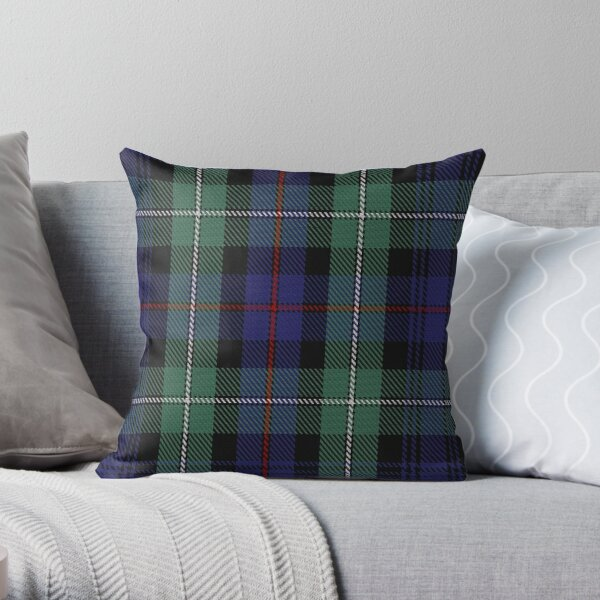 MacKenzie Hunting (Green) Clan/Family Tartan  Throw Pillow